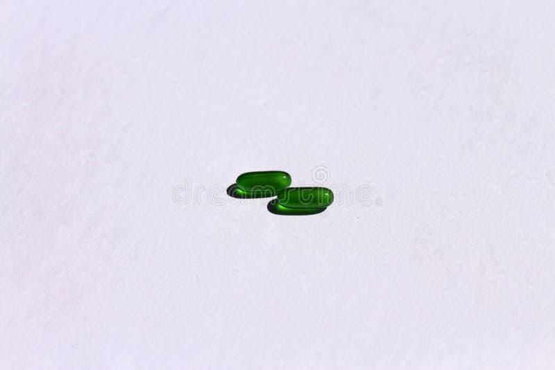 Vitamin E Capsules stock images