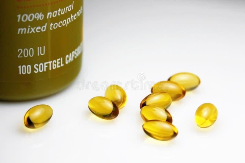 Download Vitamin E Pills stock photo. Image of medicine, health - 10071976