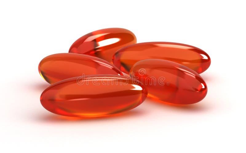 Vitamin-Ergänzungen vektor abbildung