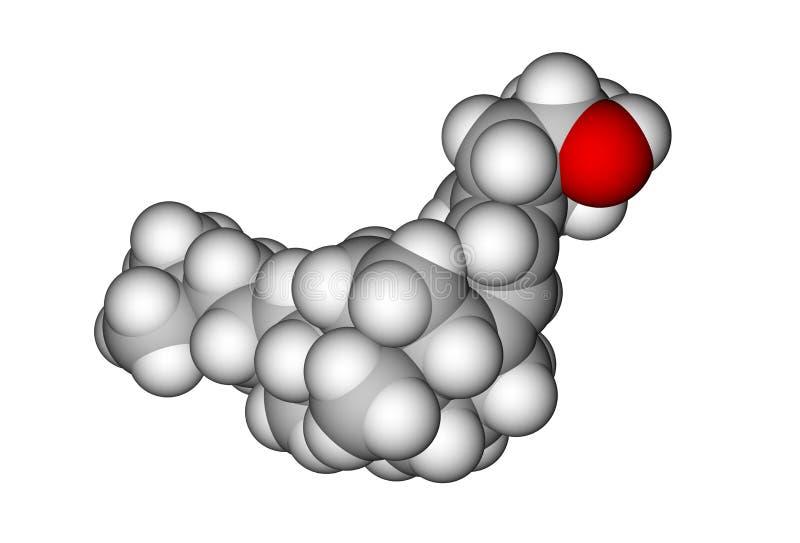 vitamin för cholecalciferol d3 vektor illustrationer