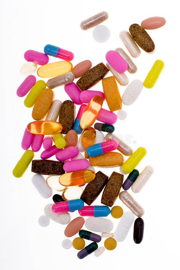 Vitamina imagens de stock