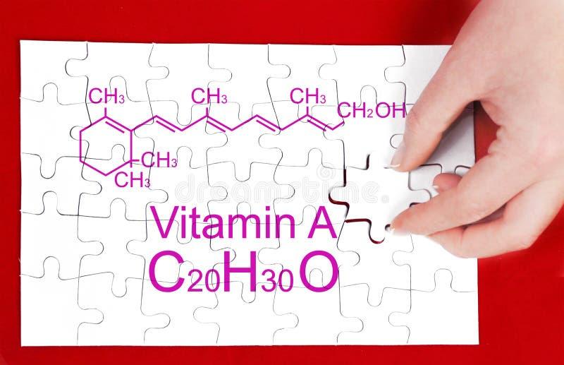 Vitamina A imagens de stock