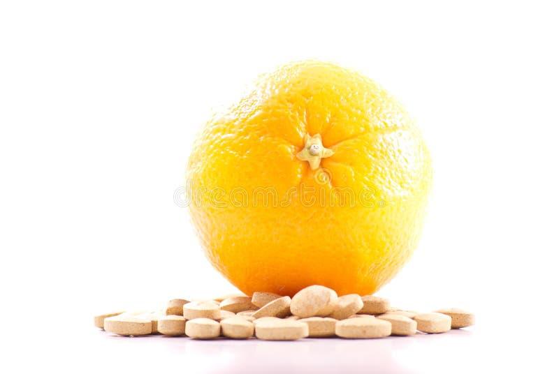 Vitamina C imagem de stock royalty free