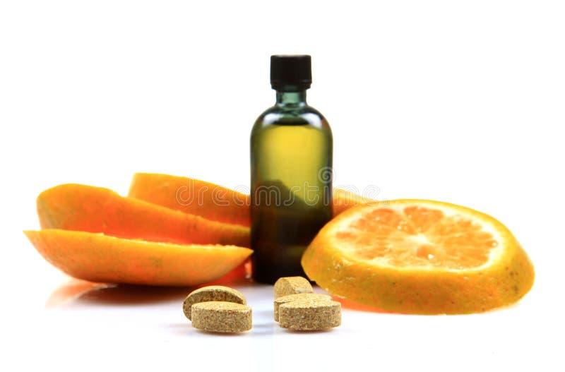 Vitamina c imagem de stock