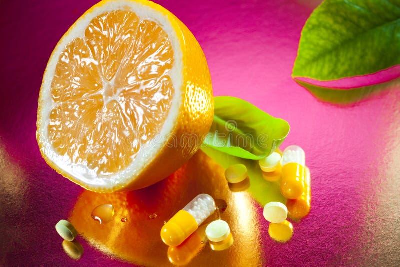 Vitamina C fotos de stock royalty free