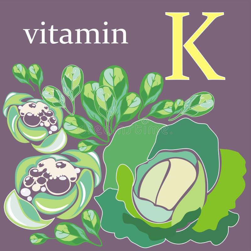 Vitamina K immagini stock libere da diritti