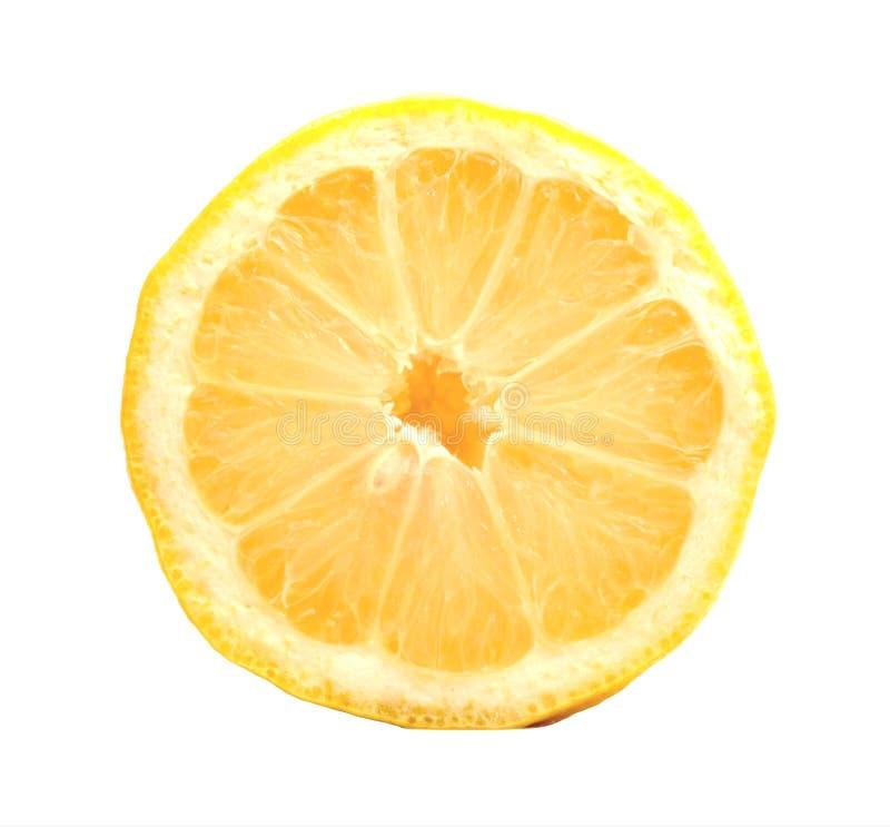 Vitamina rica c do limão fresco fotografia de stock royalty free
