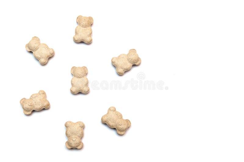 Vitaminas para los niños bajo la forma de osos fotografía de archivo libre de regalías