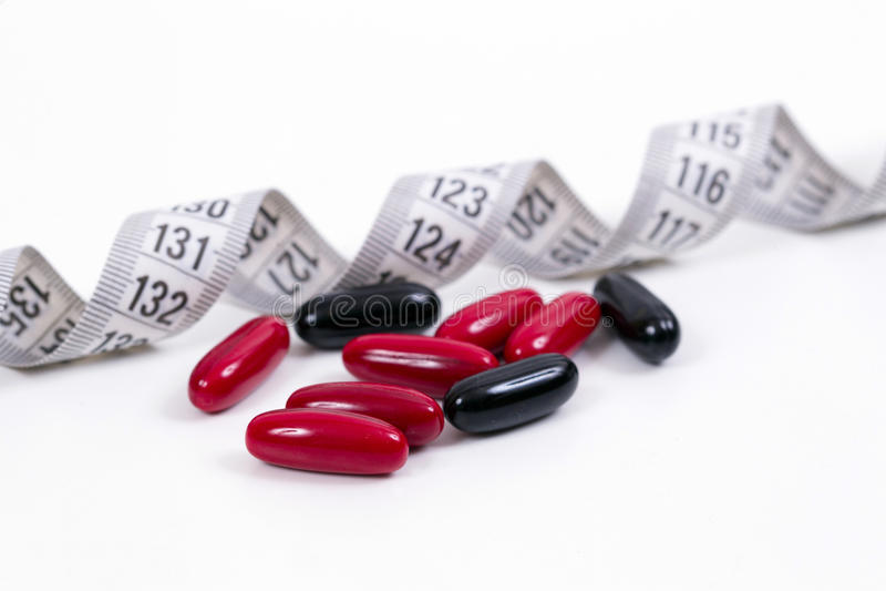 Vitaminas para uma dieta healty imagens de stock royalty free
