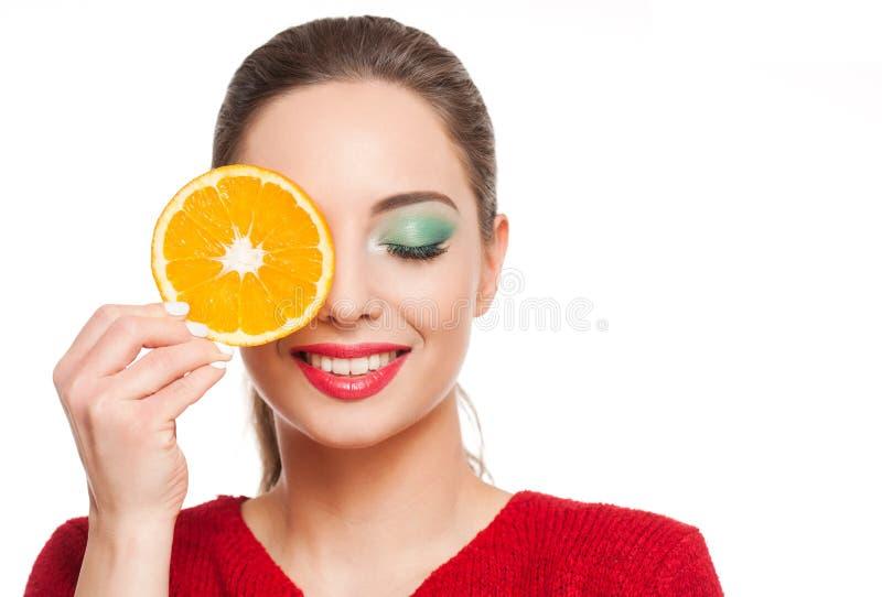 Vitaminbehandlingen royaltyfria foton