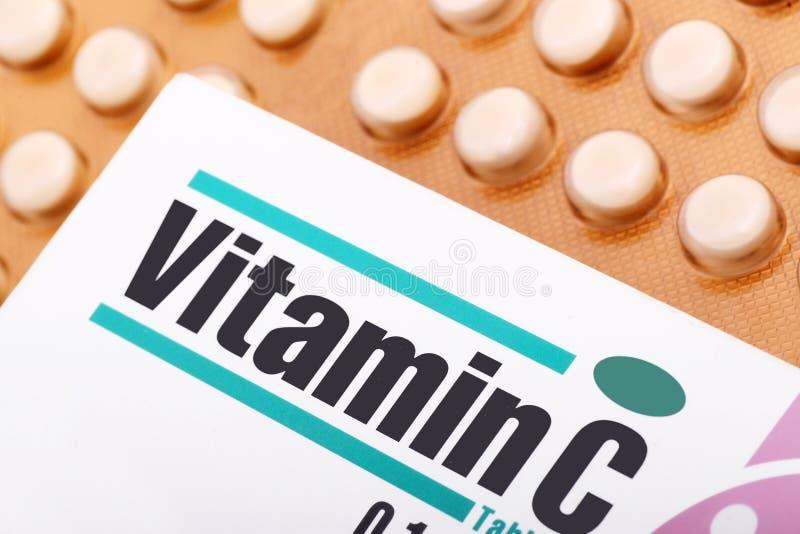 Vitamine C royalty-vrije stock fotografie