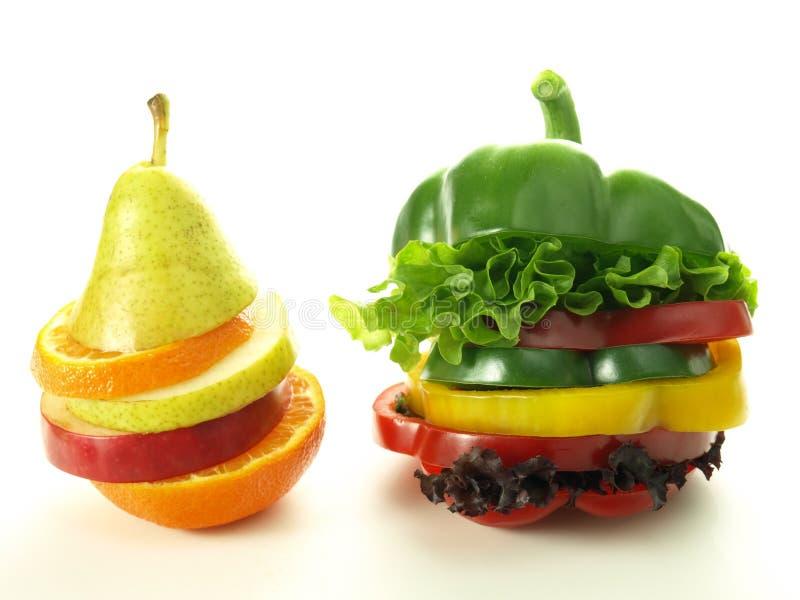 Vitamine in den Scheiben lizenzfreies stockfoto