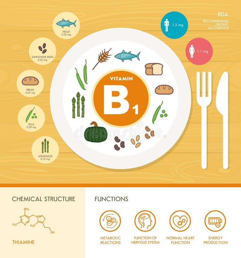 Vitamine e minerali illustrazione di stock