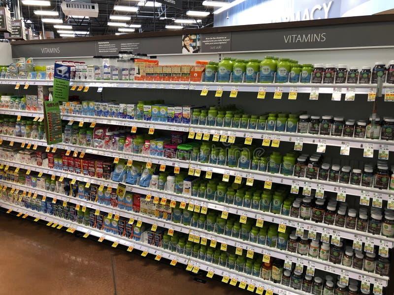Vitamine e supplementi immagini stock libere da diritti