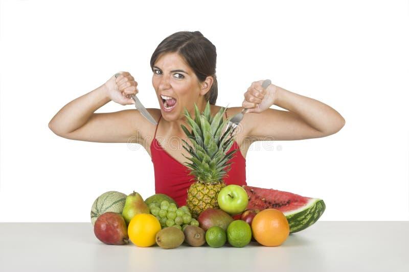Vitamine hungrig lizenzfreie stockfotos