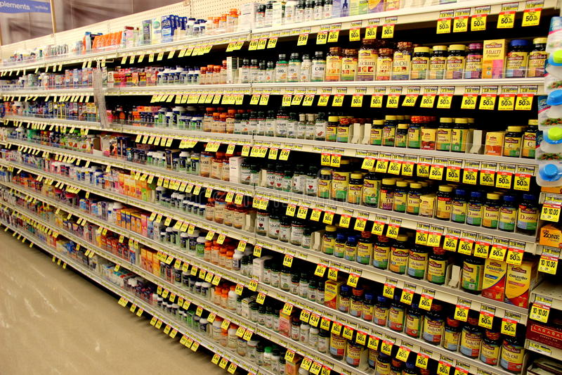 Vitaminen stock foto