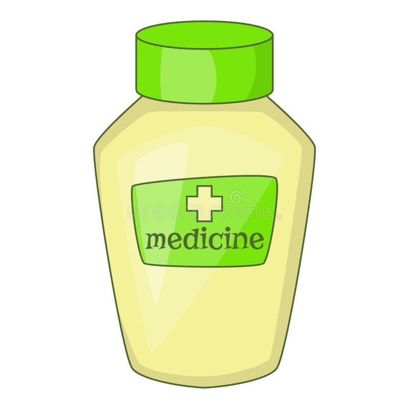 Vitaminen of geneesmiddel voor dierenpictogram vector illustratie