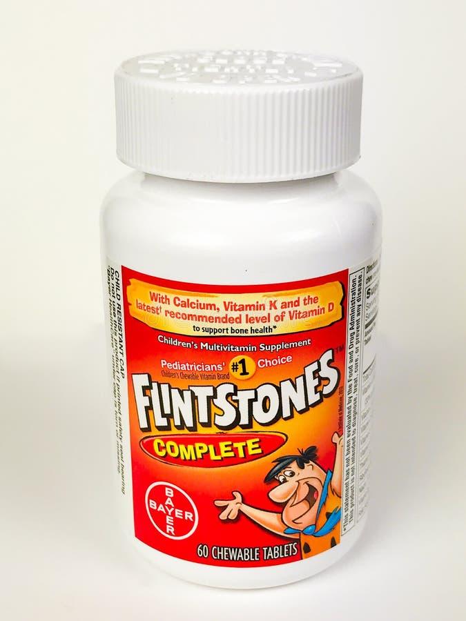 Vitamines du ` s d'enfants photos libres de droits