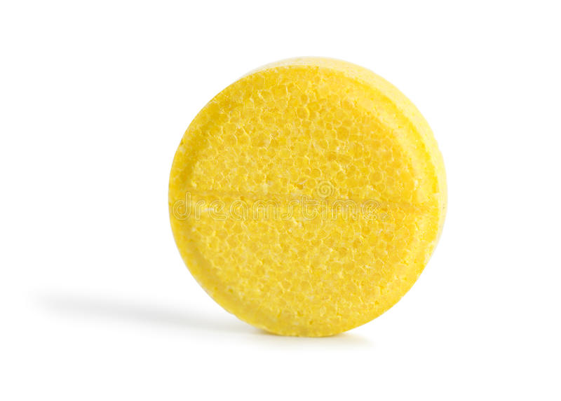 Vitaminpille stockbild