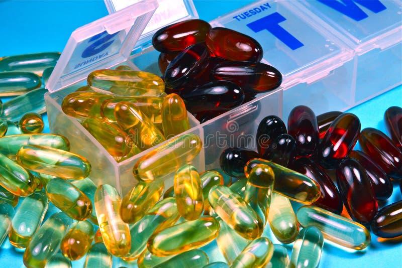Download Vitamins stock image. Image of omega6, purple, health - 10115089
