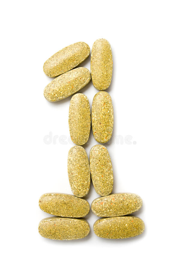 Download Vitamins stock image. Image of vitamins, first, pill - 14111755