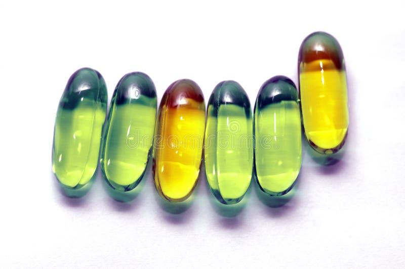 Vitamins stock photography
