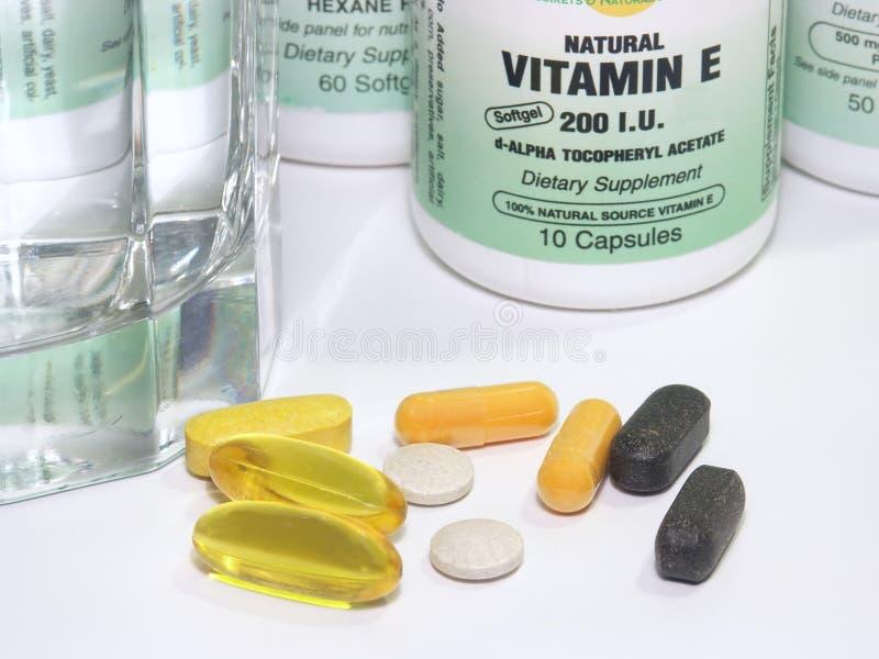 Vitamins stock photos
