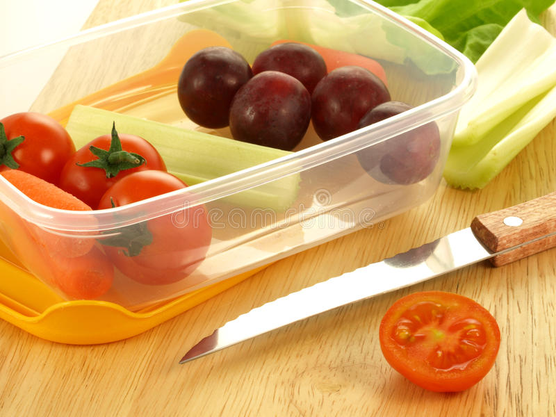 Download Vitamins in lunch box stock image. Image of fresh, takeaway - 24513857