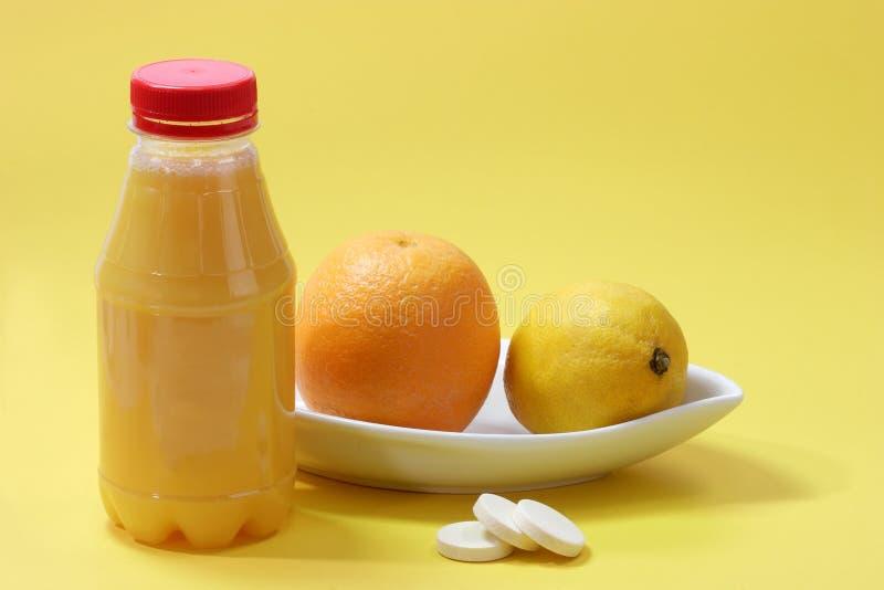 vitaminyellow royaltyfria foton