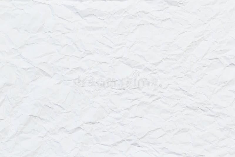 Vitbok rynkade textur eller bakgrund för din design royaltyfri fotografi