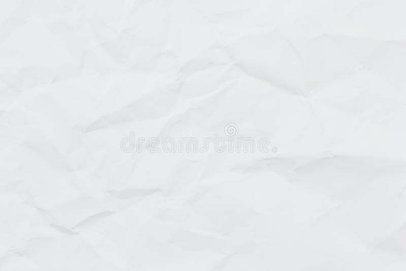 Vitbok rynkade textur eller bakgrund för din design royaltyfria foton