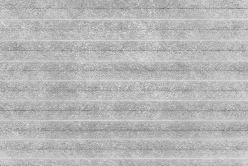 Vitbokhorisontalrullgardiner, slut upp arkivfoton