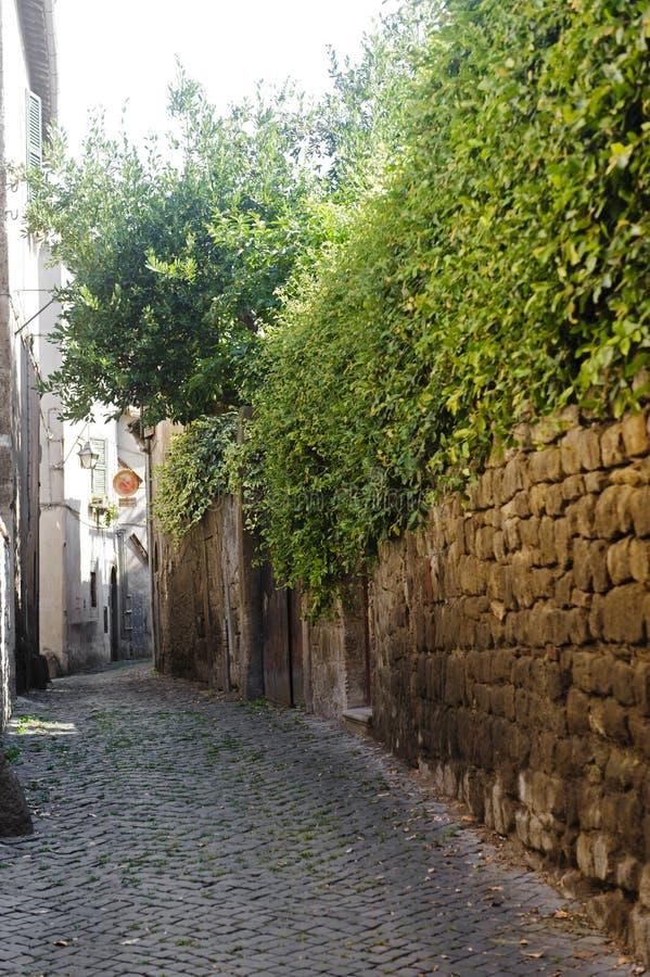Viterbo, città medioevale fotografie stock