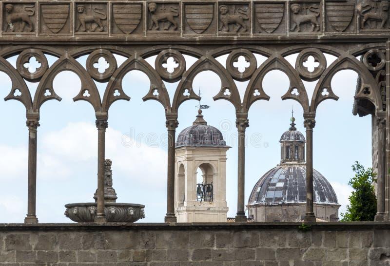 Viterbo (Italia) imágenes de archivo libres de regalías
