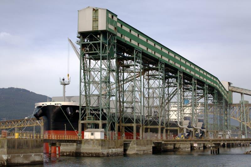 Viterra, Cascadia Terminal stockfotografie