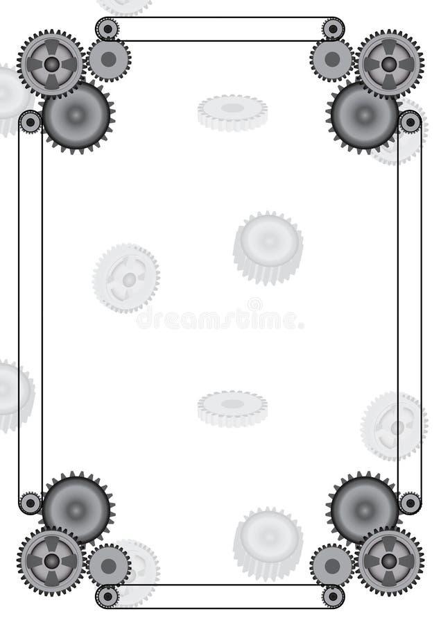 Vitesse décorative de cadre de vecteur de conception photos stock