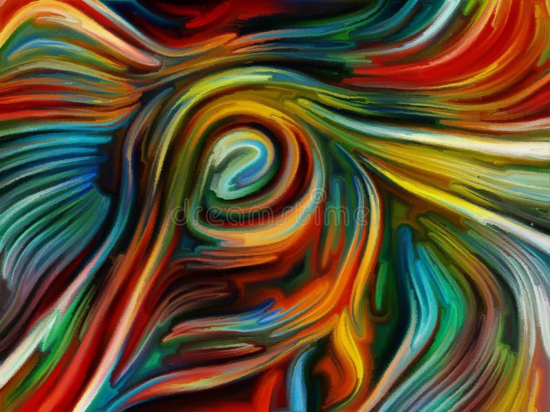 Vitesse d'effet de couleur illustration libre de droits