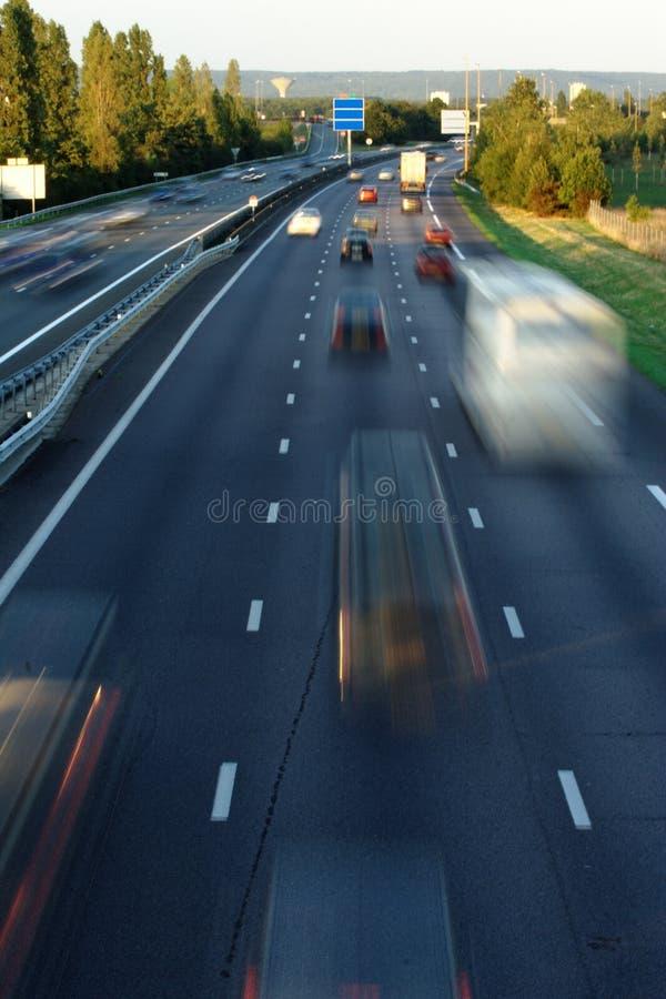 vitesse de circulation dense photo libre de droits