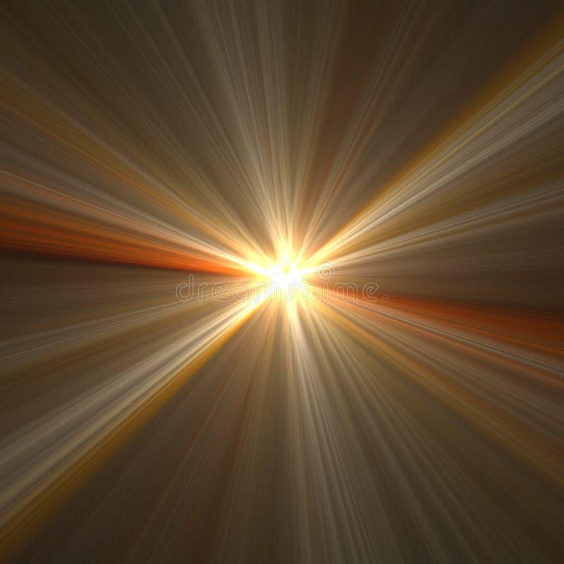 Vitesse et tache floue de lumière illustration libre de droits