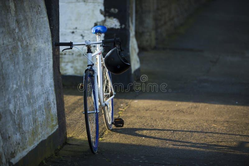 Vitesse fixe de bicyclette de ville image libre de droits