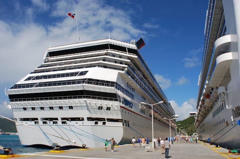 Vitesse normale à St.Maarten images stock