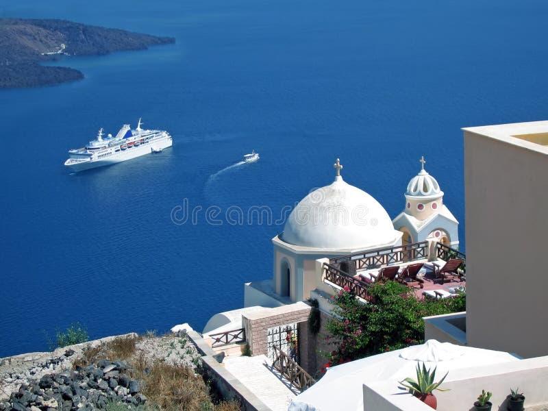 Vitesse normale aux îles grecques photo libre de droits