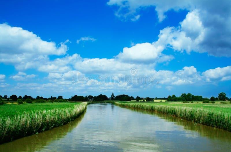 Vitesse normale de fleuve photo libre de droits
