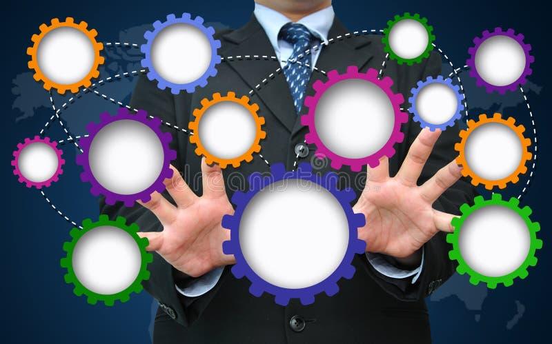 Vitesse vide pour le concept de développement des affaires