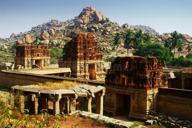 Vithalla寺庙 库存照片