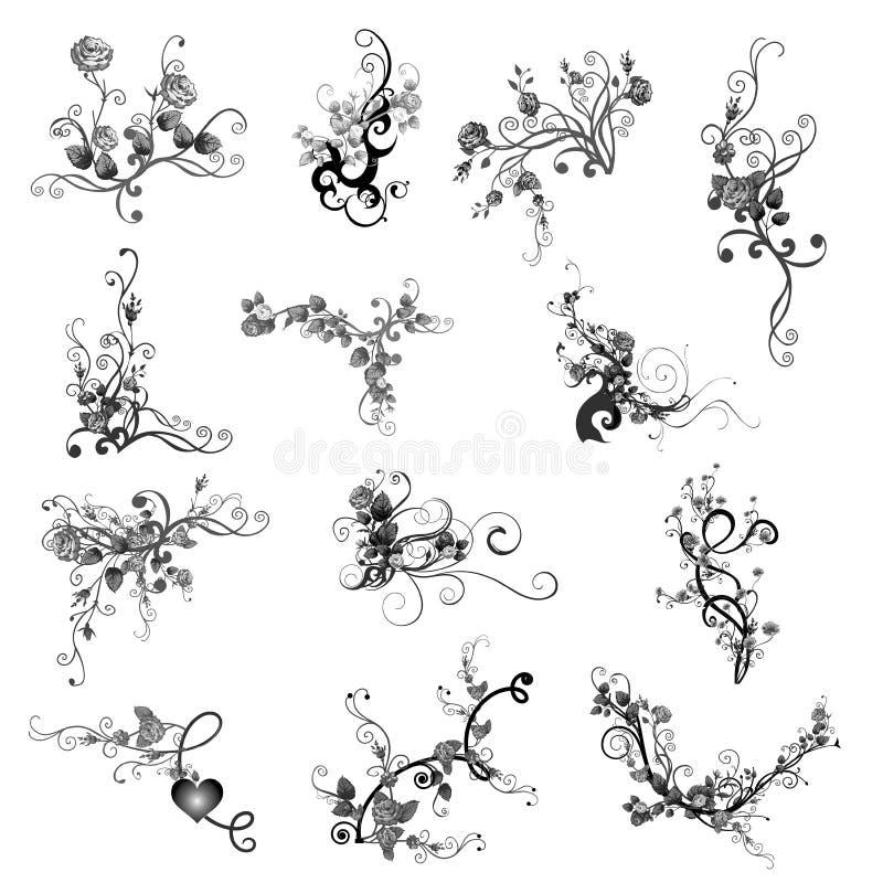 Viti della Rosa royalty illustrazione gratis
