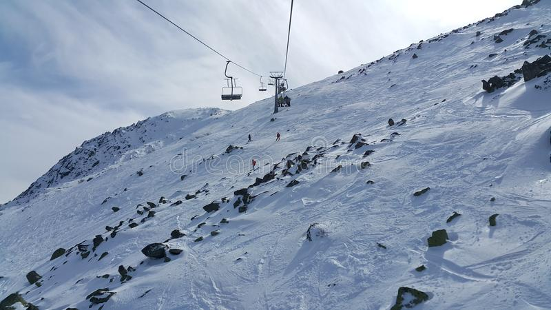 Vitosha Ski Resort immagine stock