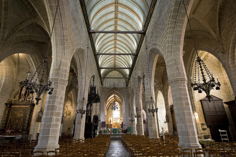 Vitré, Brittany photographie stock libre de droits