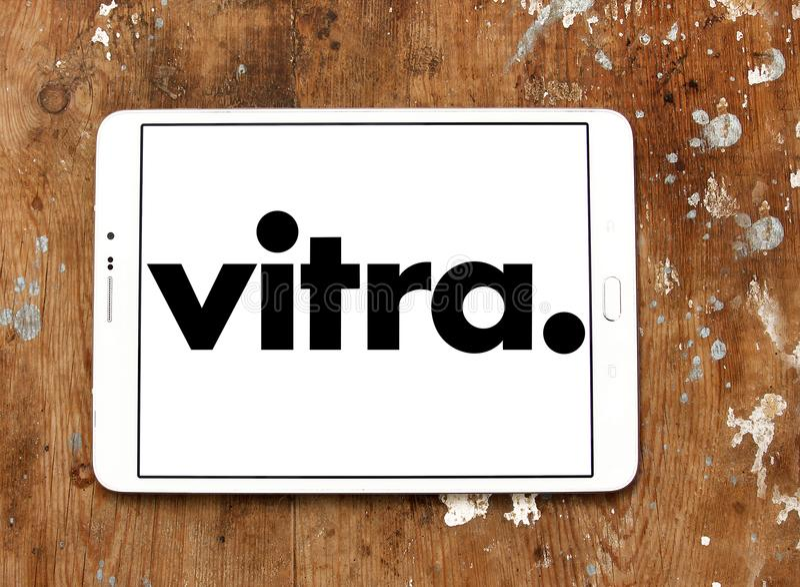 Vitra家具公司商标 图库摄影