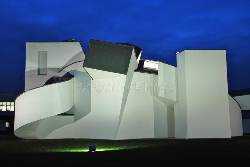 Vitra Design Museum by Frank Gehry. The Vitra Design Museum is an internationally renowned, privately owned museum for design in Weil am Rhein, Germany. The stock images